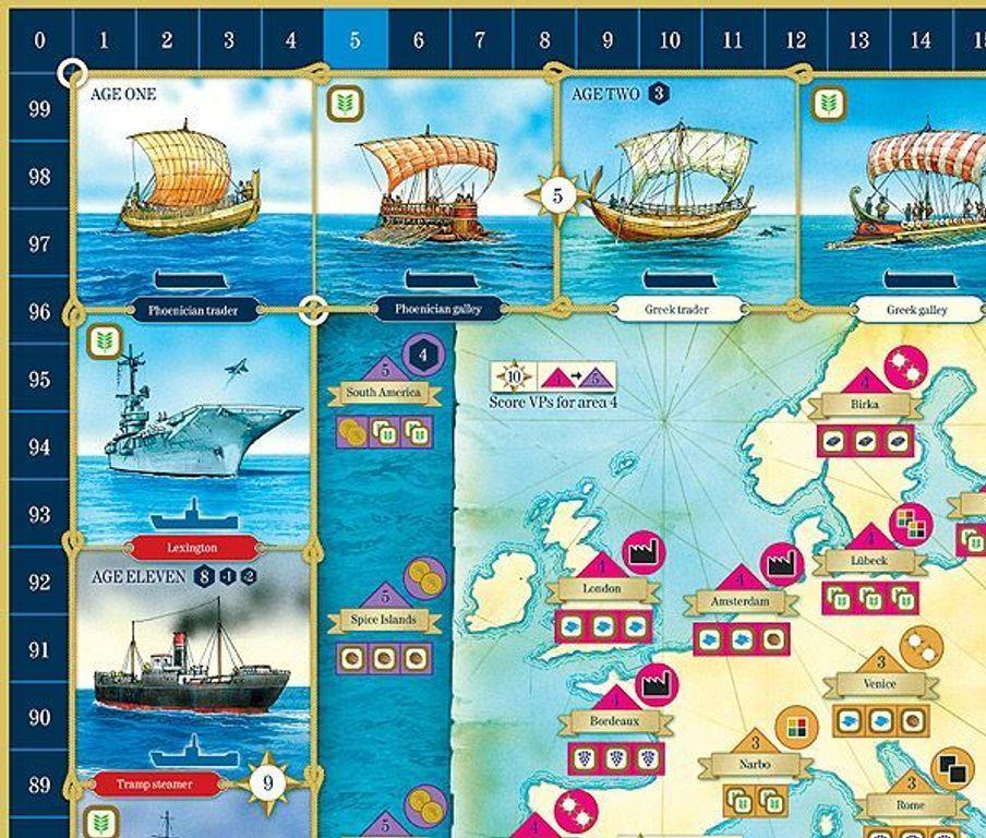Ships game board