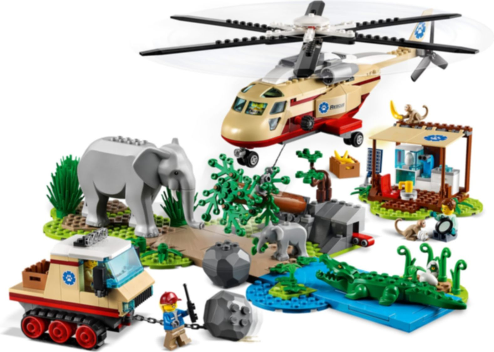 LEGO® City Wildlife Rescue Operation gameplay
