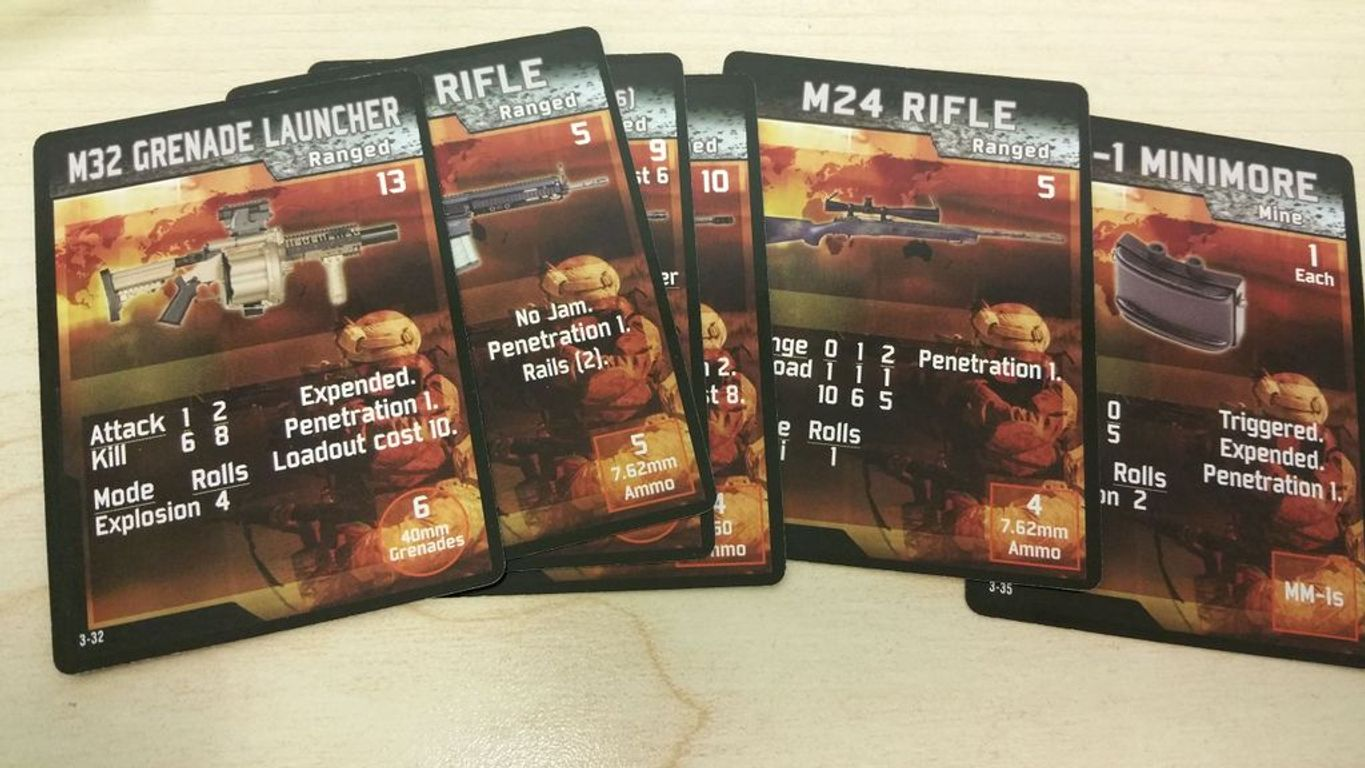 Warfighter Expansion #3: Support cards