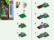 LEGO® Minecraft The Skeleton Defense manual