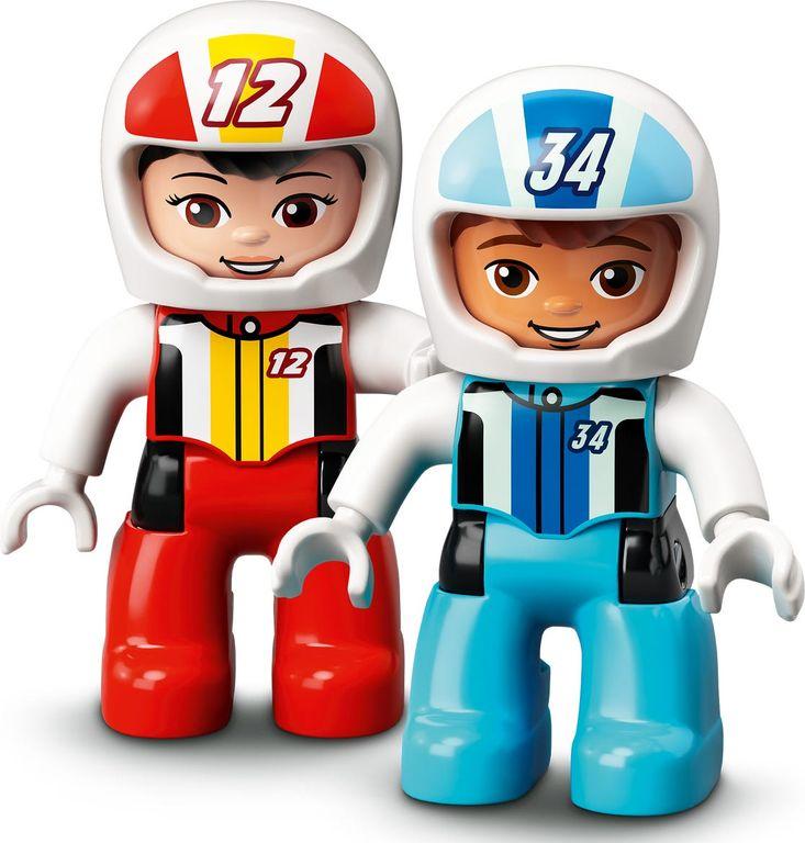 LEGO® DUPLO® Race Cars minifigures