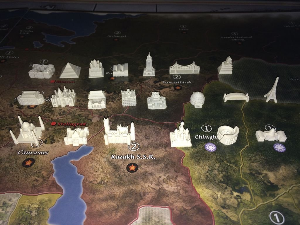 Axis & Allies Europe 1940 miniatures