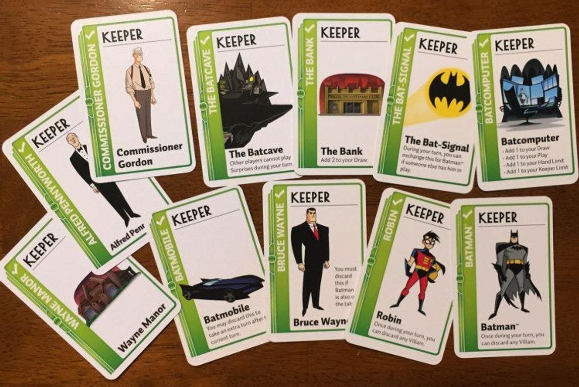 Batman Fluxx cards