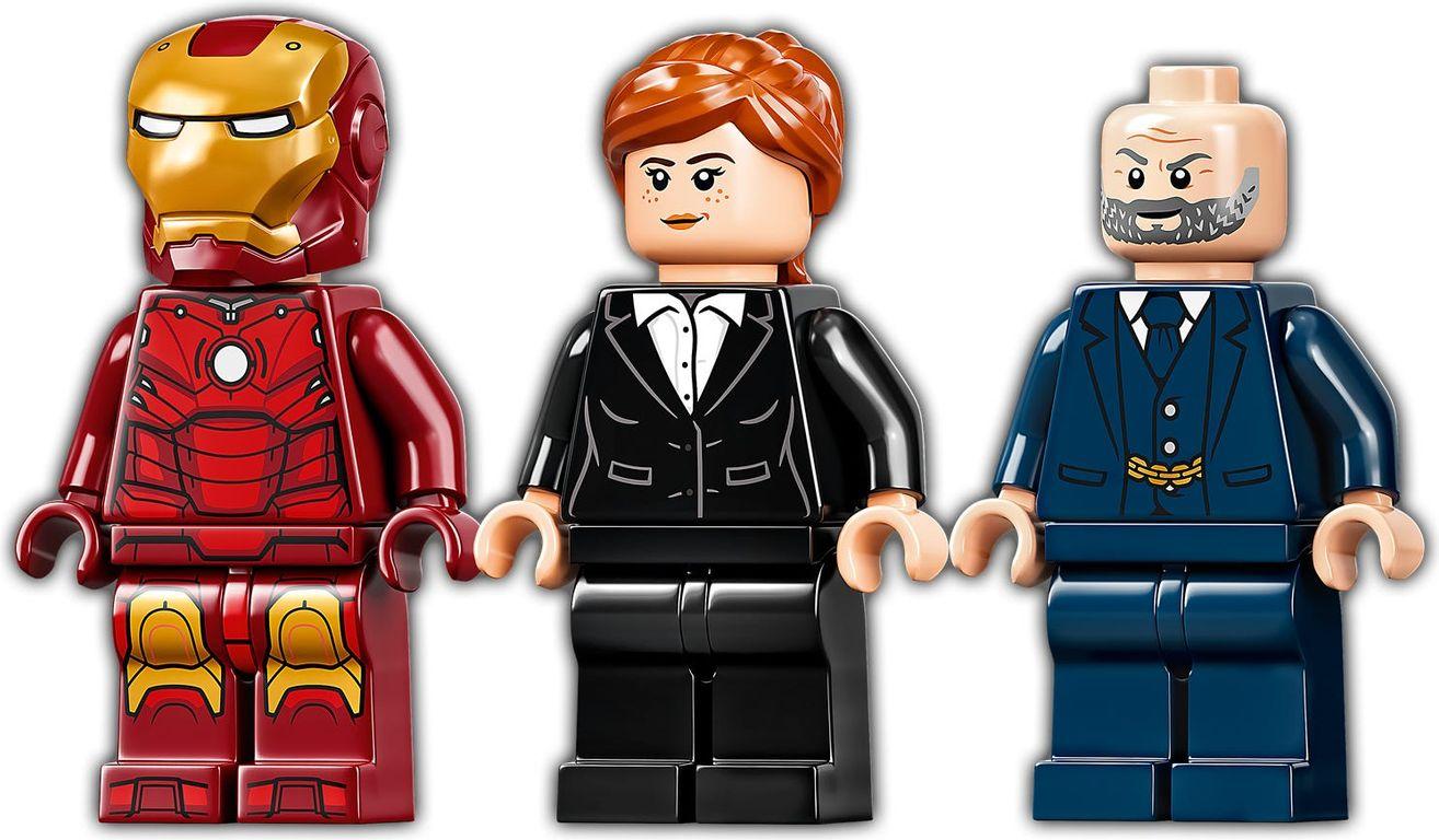 LEGO® Marvel Iron Man: Iron Monger Mayhem minifigures