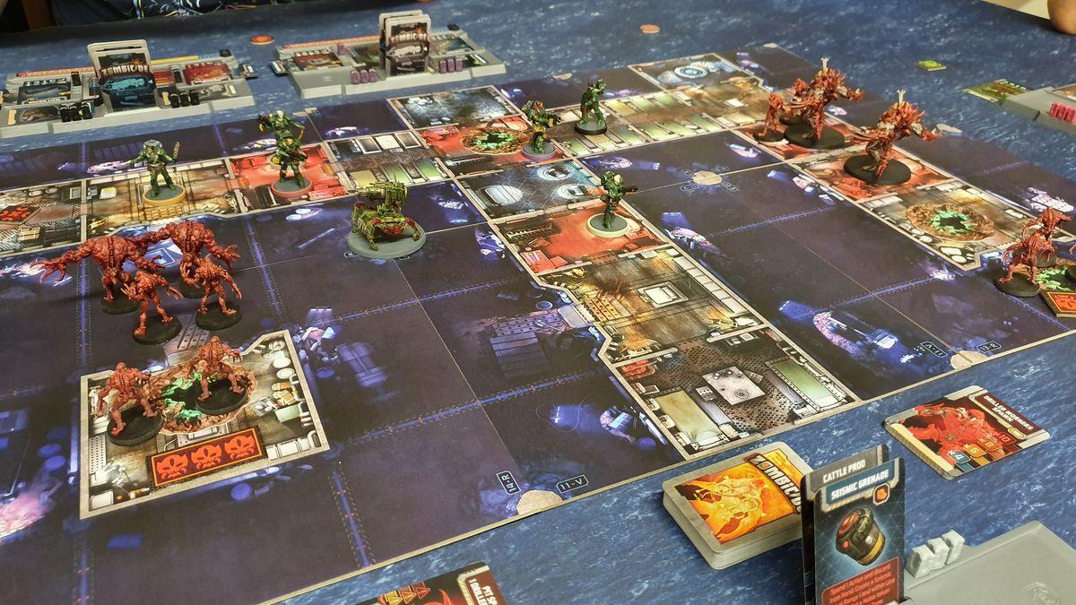 Zombicide: Dark Side gameplay