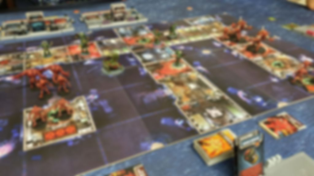 Zombicide: Dark Side gameplay
