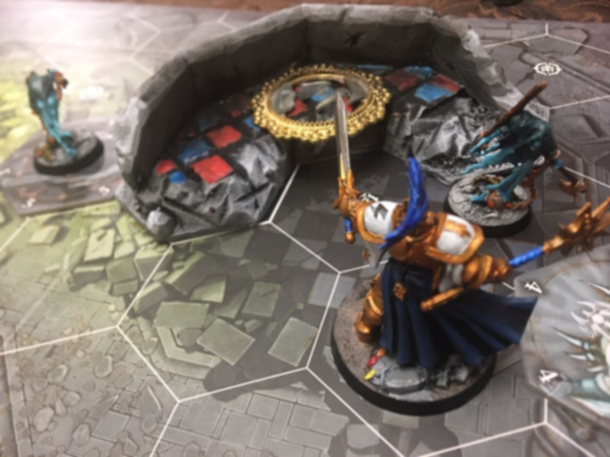 Warhammer Underworlds: Nightvault gameplay