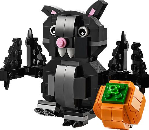 LEGO® Halloween Bat components