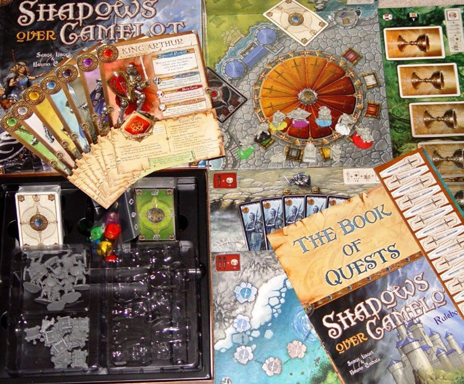 Shadows over Camelot components