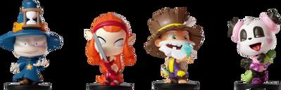 Krosmaster Junior miniatures