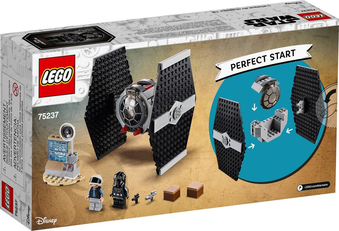 LEGO® Star Wars TIE Fighter™ Attack back of the box