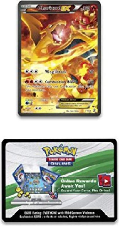 Pokémon 20th Anniversary Red & Blue Collection - Charizard-EX cartas