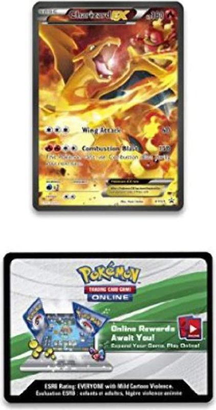 Pokémon 20th Anniversary Red & Blue Collection - Charizard-EX cards