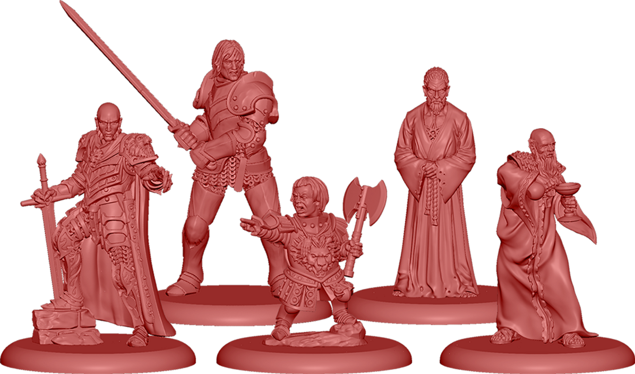 A Song of Ice & Fire: Tabletop Miniatures Game - Lannister Heroes I miniatures