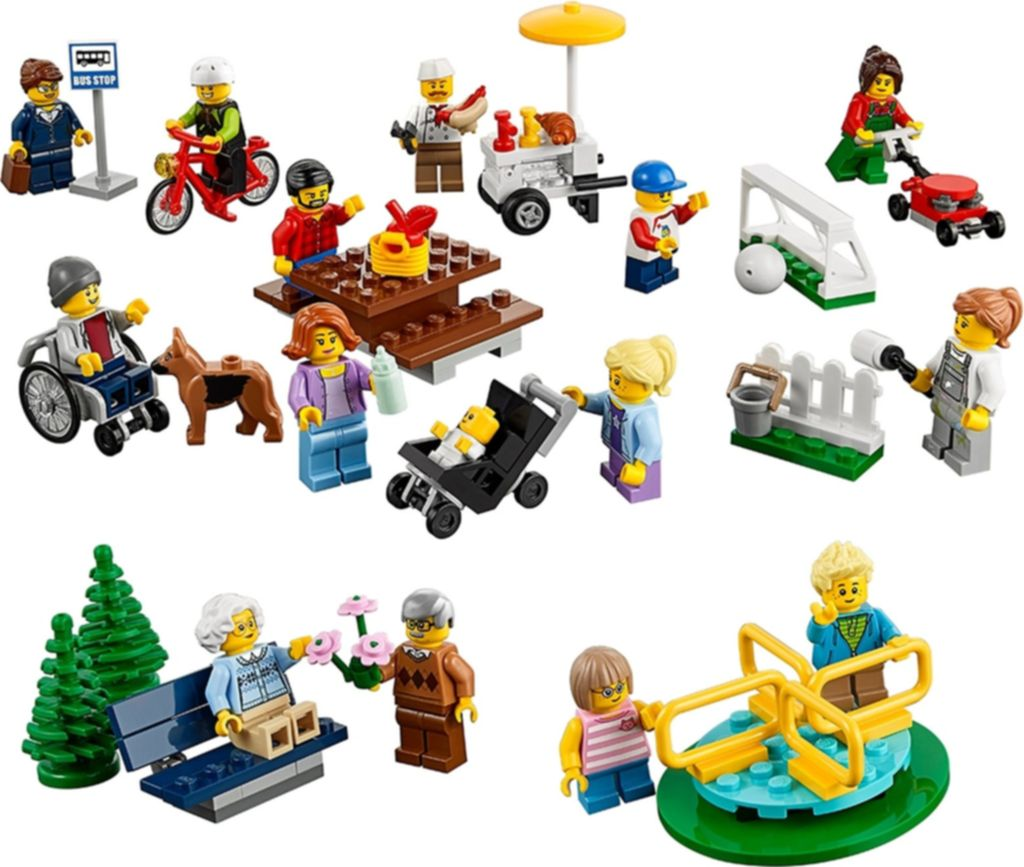 Fun in the park - City People Pack components