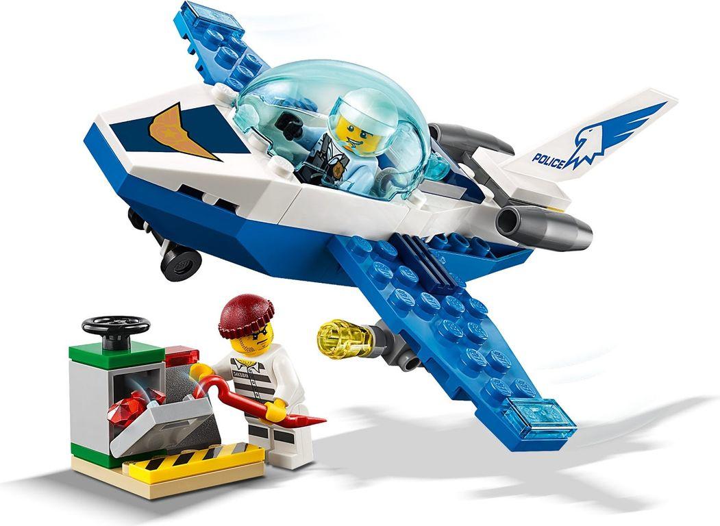 LEGO® City Sky Police Jet Patrol gameplay