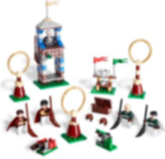 LEGO® Harry Potter™ Quidditch Match components