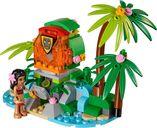 LEGO® Disney Moana's Ocean Voyage components