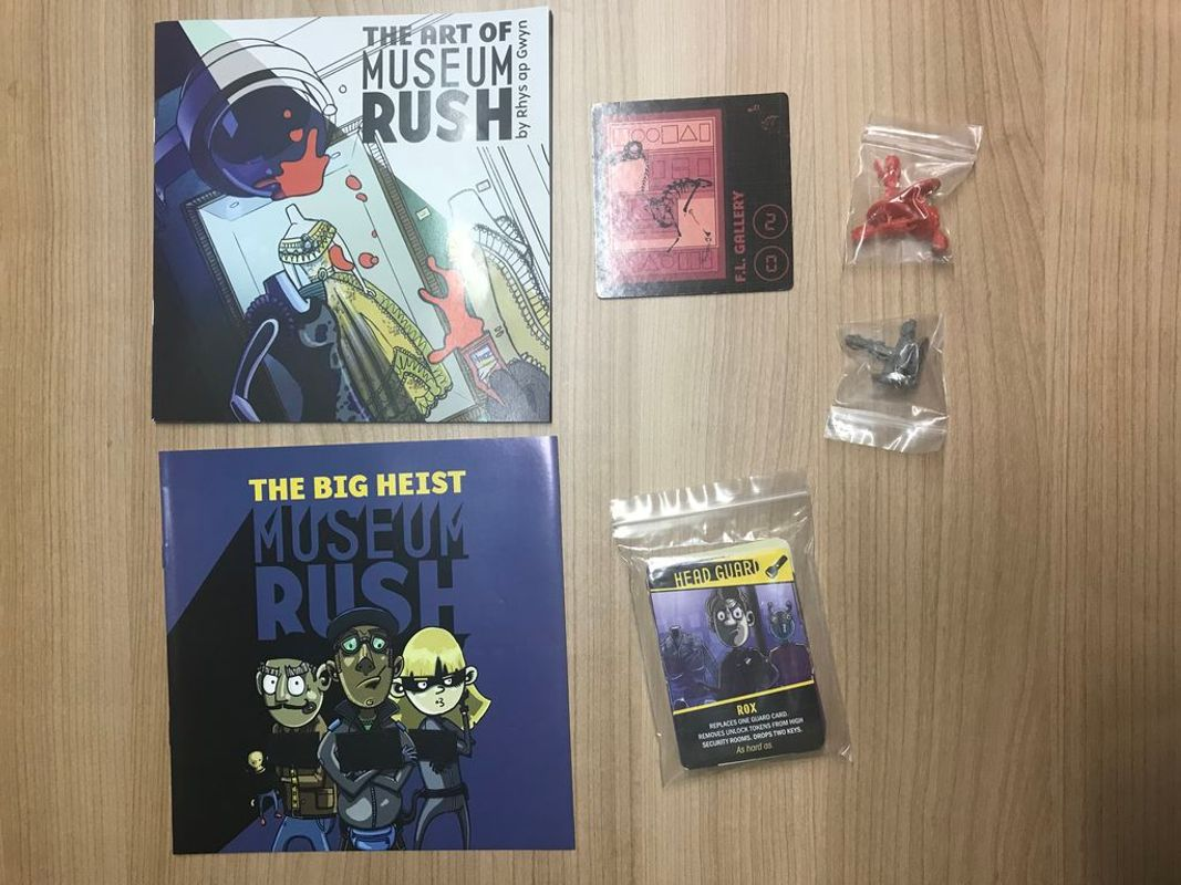 Museum Rush components