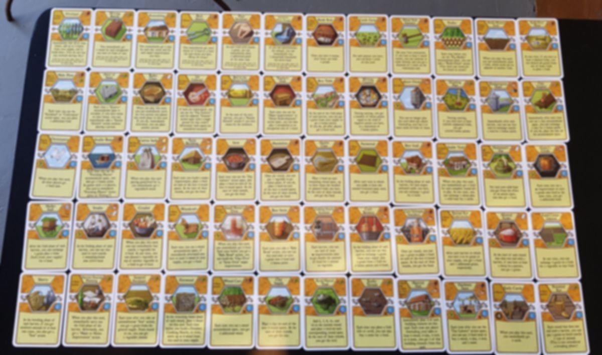 Agricola: Corbarius Deck cards