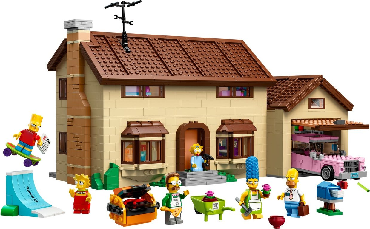 LEGO® The Simpsons The Simpsons™ House components