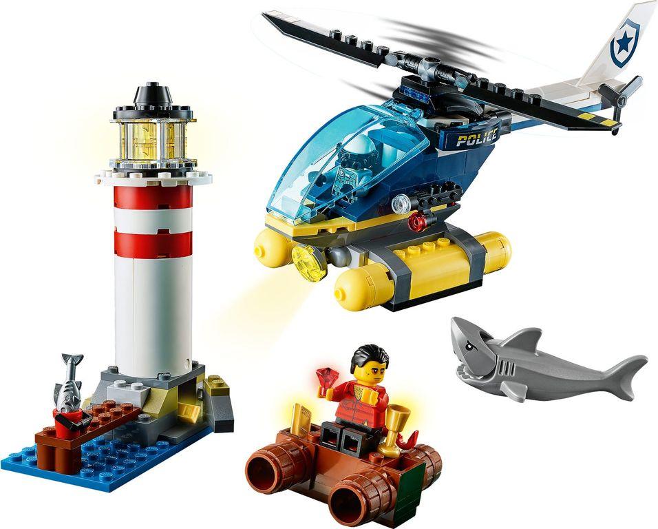 LEGO® City Police Lighthouse Capture gameplay