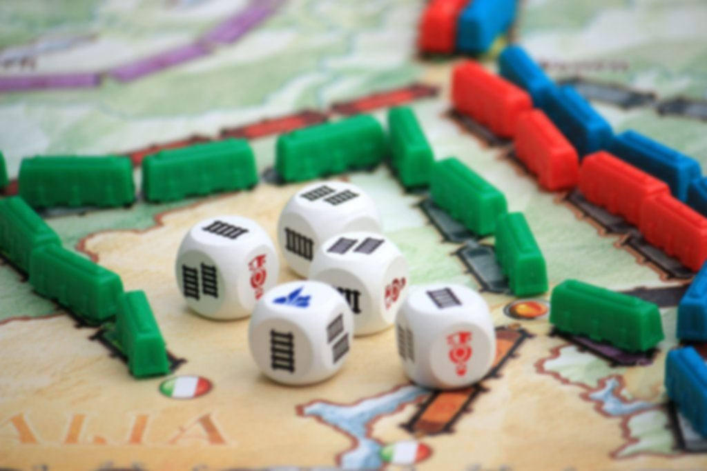 Ticket to Ride: The Dice Expansion gameplay