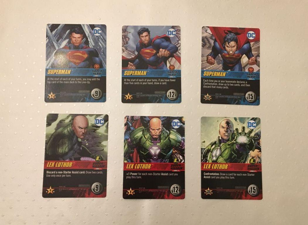 DC Comics Deck-Building Game: Confrontations cards