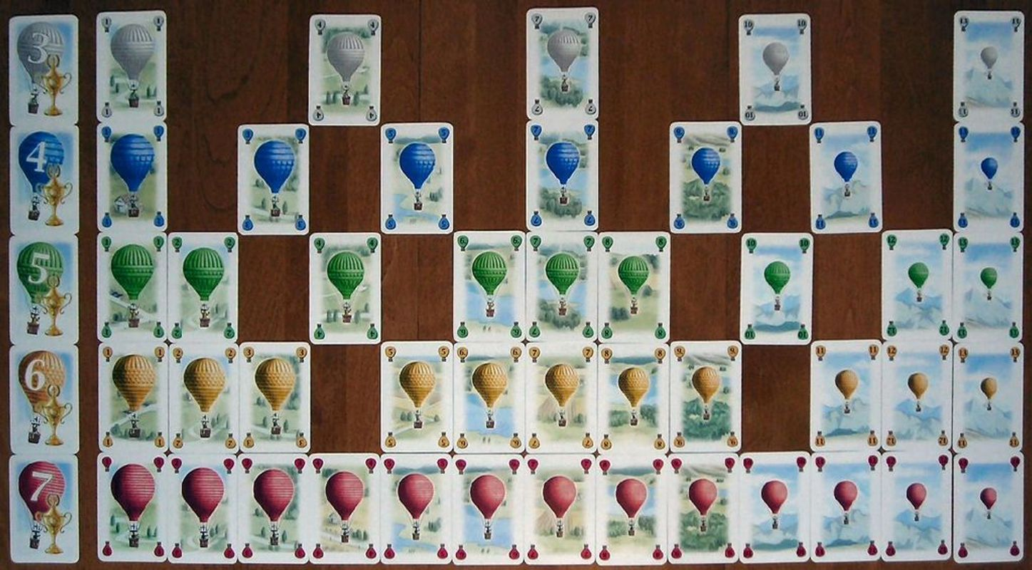 Balloon Cup cards