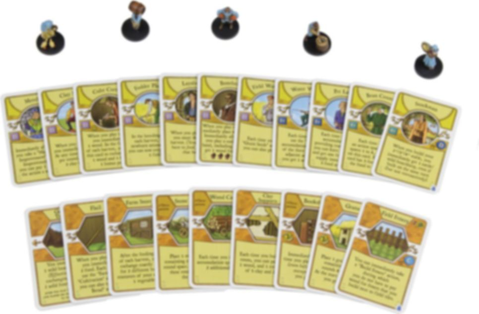 Agricola Game Expansion: Blue cards