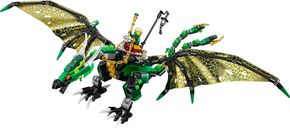 The Green NRG Dragon components