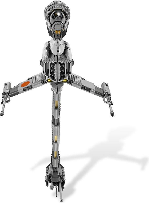 B-wing Starfighter components