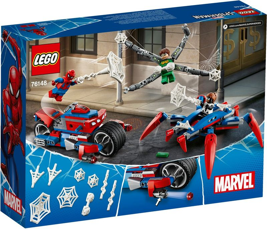 LEGO® Marvel Spider-Man vs. Doc Ock back of the box