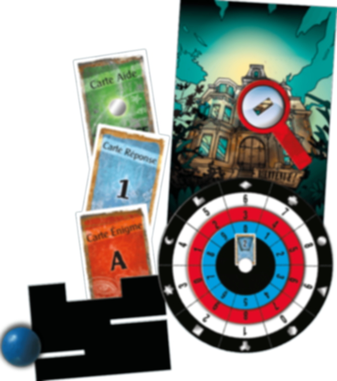 Exit: The Game - The House of Riddles components