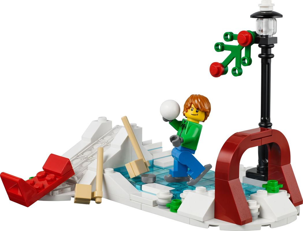 Holiday Winter Skating Scene gameplay