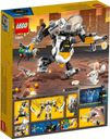 Egghead™  Mech Food Fight back of the box