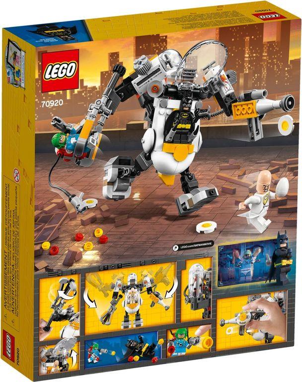 LEGO® Batman Movie Egghead™  Mech Food Fight back of the box