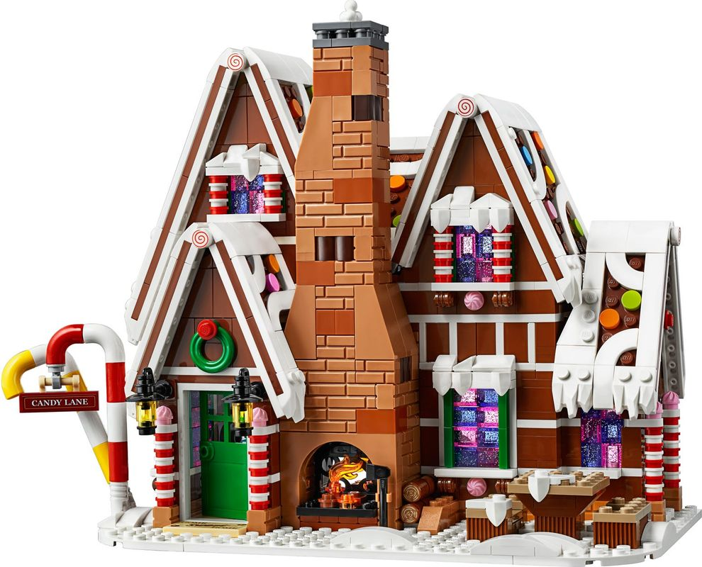 Gingerbread House components