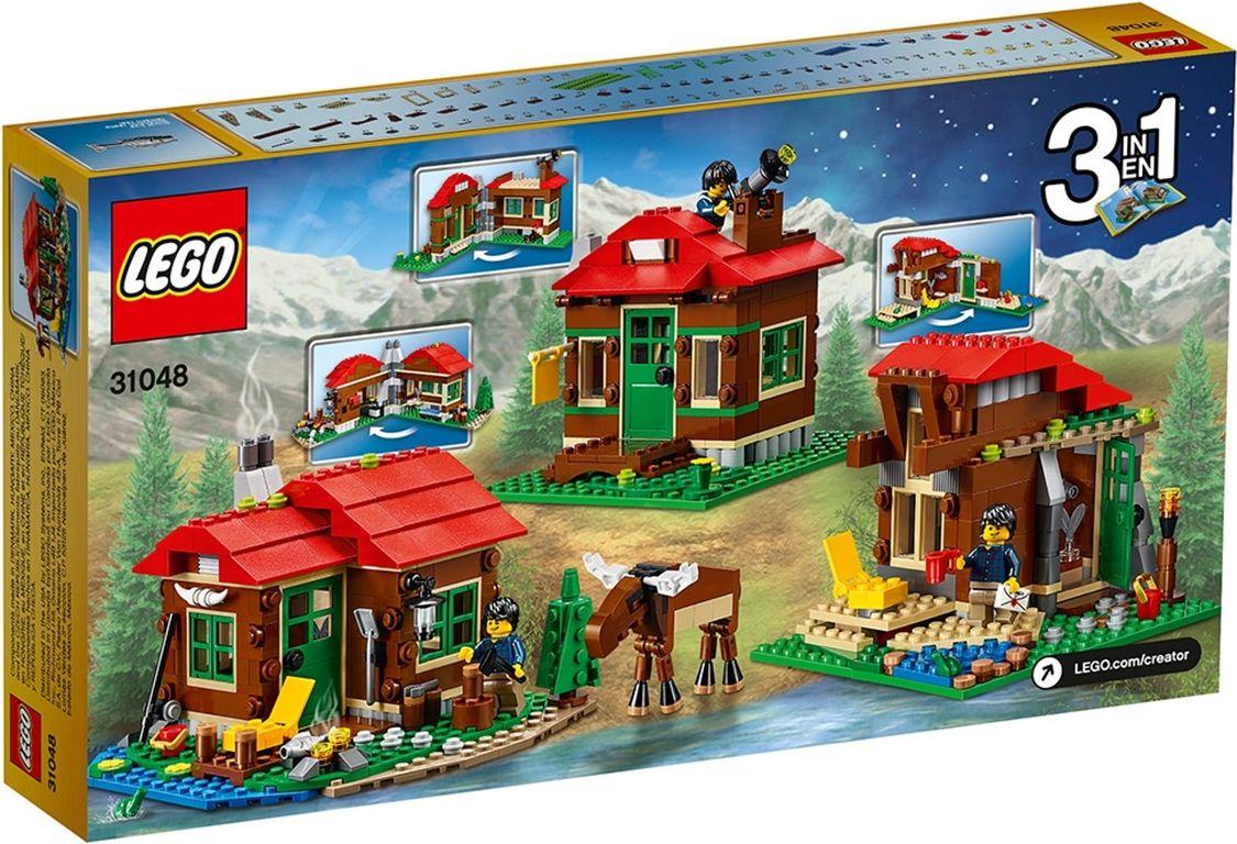 LEGO® Creator Lakeside Lodge back of the box