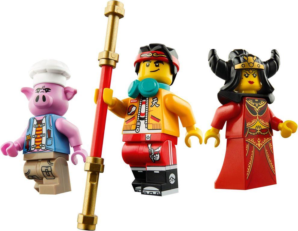 LEGO® Monkie Kid Demon Bull King minifigures