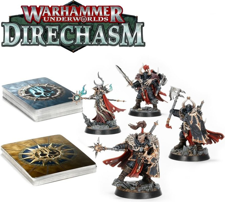 Warhammer Underworlds: Direchasm – Khagra's Ravagers components