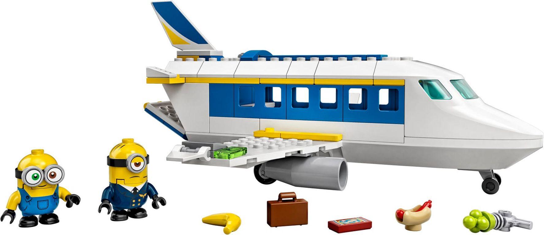 LEGO® Minions Minion Pilot in Training components