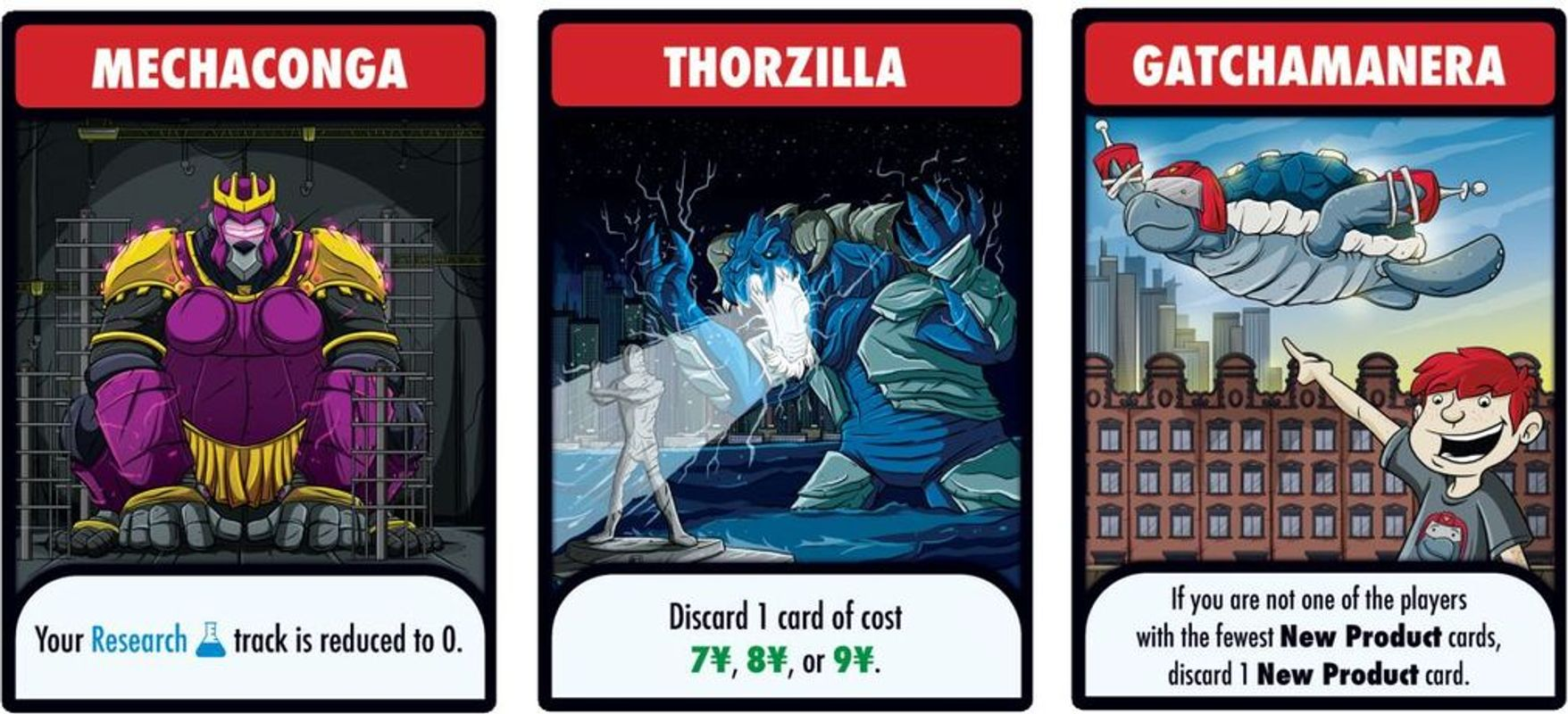 Kaiju Incorporated cards