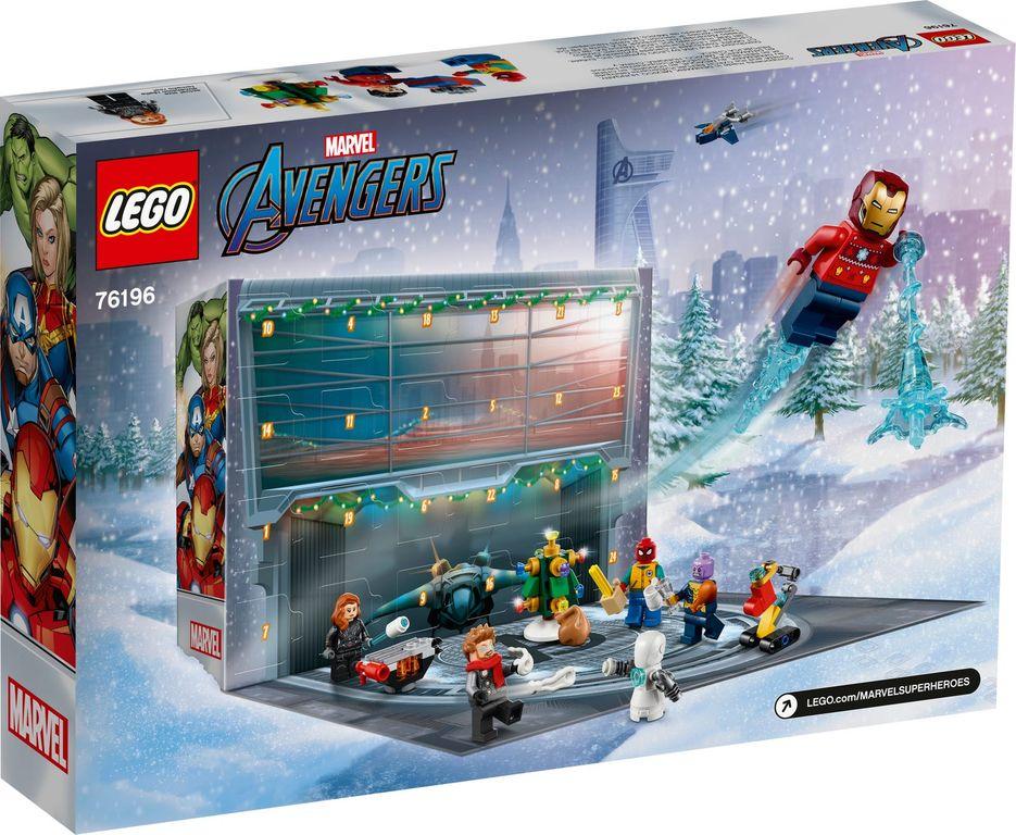 LEGO® Marvel Avengers Advent Calendar 2021 back of the box