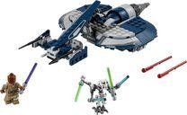 LEGO® Star Wars General Grievous' Combat Speeder components