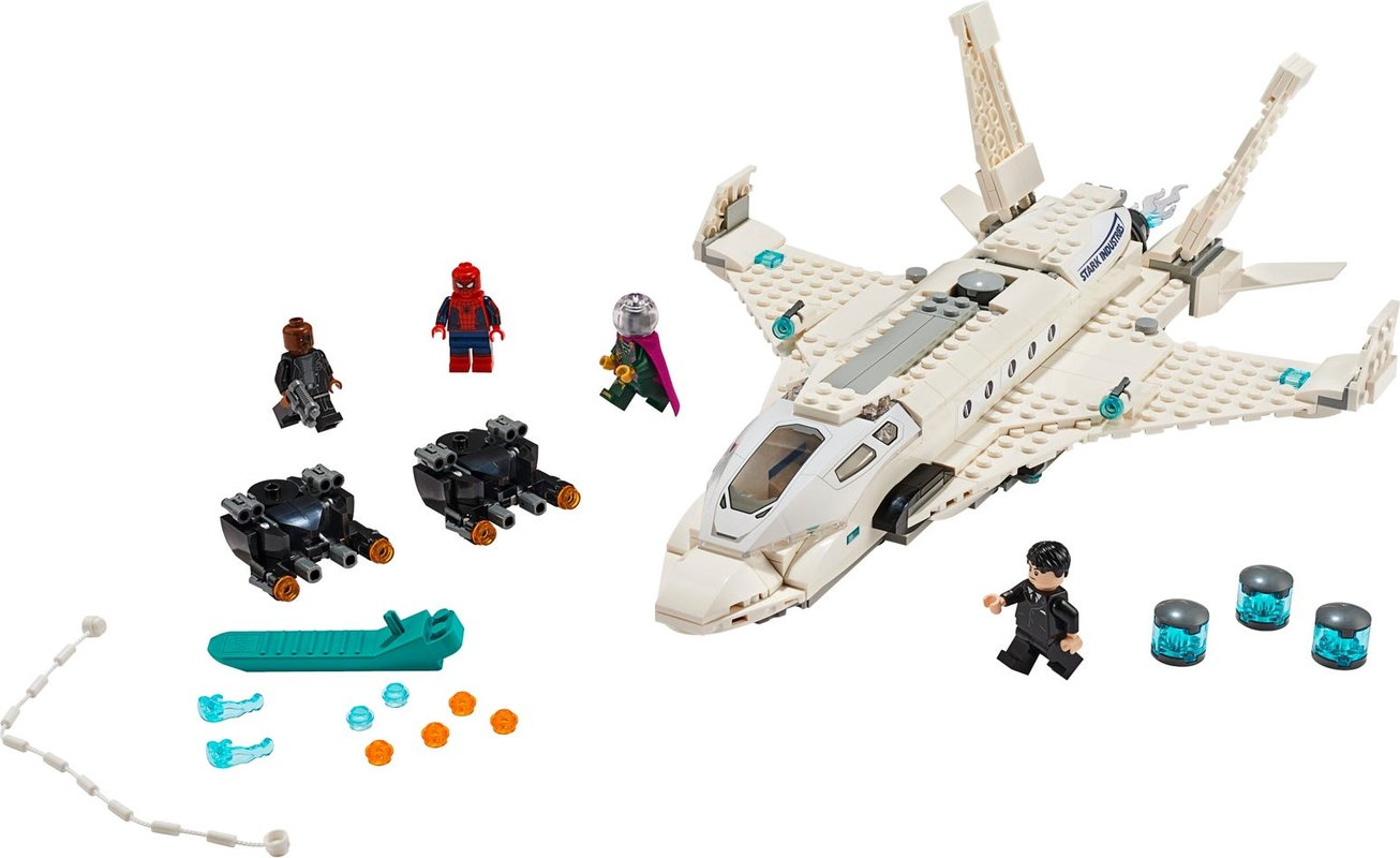 Stark Jet and the Drone Attack components