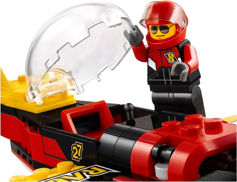 LEGO® City Race Plane components