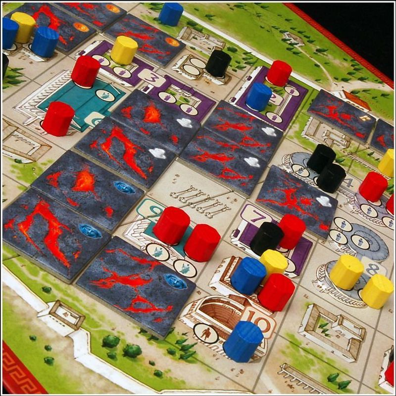 The Downfall of Pompeii components