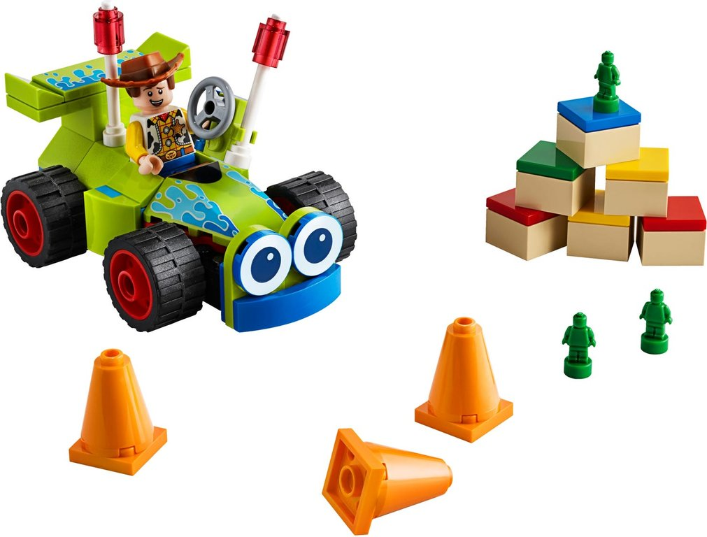 LEGO® Toy Story Woody & RC components